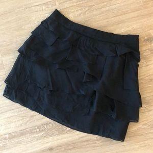 Club Monaco Ruffle Skirt